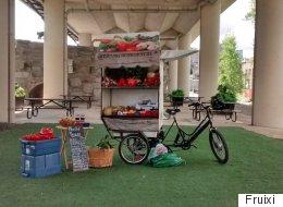 Fruixi: service mobile de vente de fruits et légumes locaux