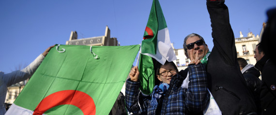ALGERIA FLAG FRANCE