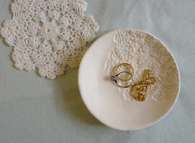 Craft Of The Day: Lace Doily Bowl | HuffPost