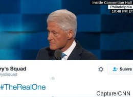 Les partisans de Clinton ont un nouveau hashtag, et c'est Bill qui l'a trouvé