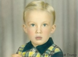 Cette photo de Donald Trump enfant vaut le détour(nement)