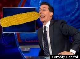 Colbert Santorum Huntsman