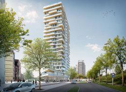 La plus grande tour en bois du monde devrait voir le jour à Amsterdam