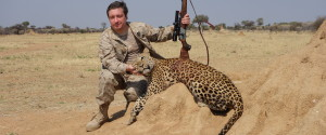 LEOPARD TROPHY HUNTING