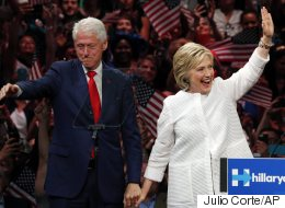 Newspapers Hail Hillary's Triumph With Photos Of Husband