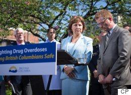 B.C. Premier Calls For Federal Help As Drug Overdose Deaths Surge