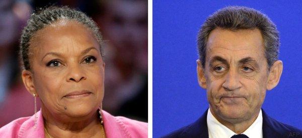 Après Fillon, Taubira s'attaque à Sarkozy