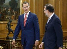 Rajoy acepta el encargo del rey de intentar la investidura