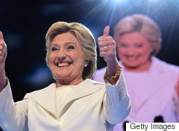 Clinton Casts Herself As A Unifier As She Accepts Nomination