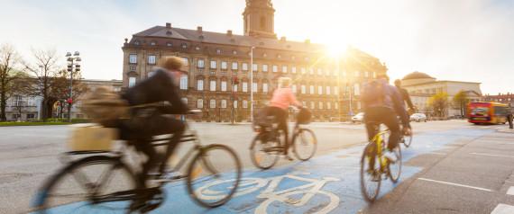 DENMARK CYCLIST