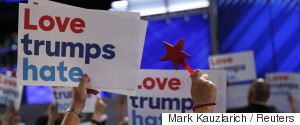 DEMOCRATIC NATIONAL CONVENTION LOVE