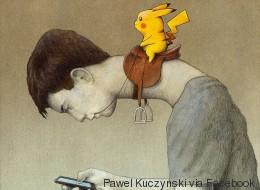 Ce dessin résume parfaitement ce que pensent les anti-Pokémon Go