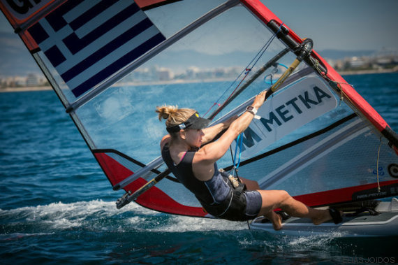 windsurfista angeliki skarlatou