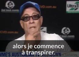Exaspéré, Jean-Claude Van Damme s'en va en pleine entrevue