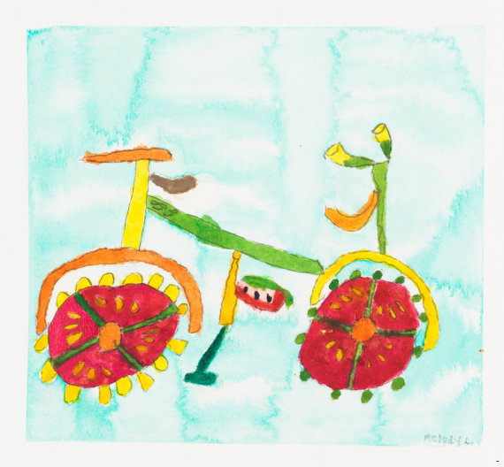 essa é minha bike por comida de melody lima