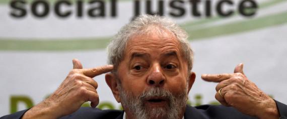 FORMER BRAZILIAN PRESIDENT LUIZ INACIO LULA DA SIL