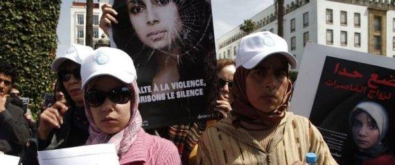 MANIF RABAT VIOLENCE FEMMES