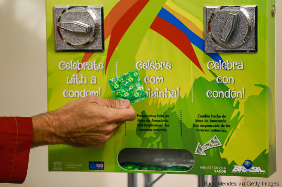 condoms rio 2016