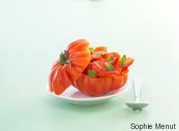Vite fait, bien fait: Tomates aux fraises et à la menthe