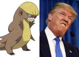Ce nouveau pokémon soleil, Gumshoos, ressemble à Donald Trump