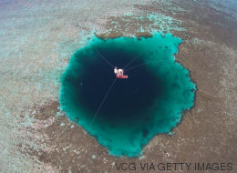 Este es el agujero azul más profundo del mundo
