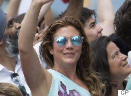 Sophie Grégoire Trudeau Rocks Jumpsuit For Vancouver Pride