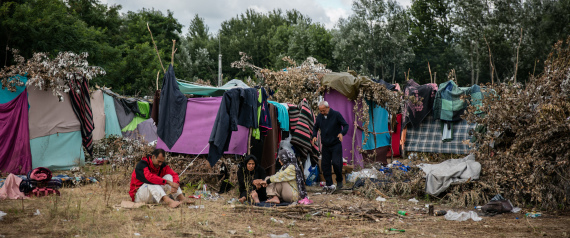 REFUGEES IN CAMP EUROPE