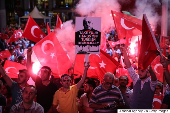 istanbul coup street