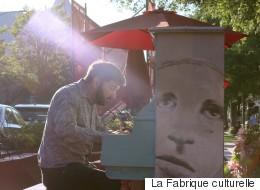 Pianos publics - Luc Beauséjour joue Scarlatti dans la ville