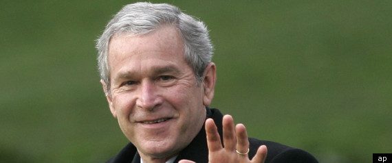George W Bush Threatened