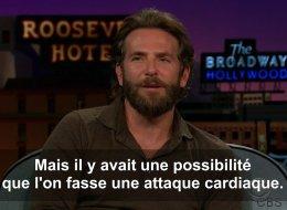 Bradley Cooper aurait bien aimé se faire taser pour de vrai dans «Lendemain de veille» (VIDÉO)