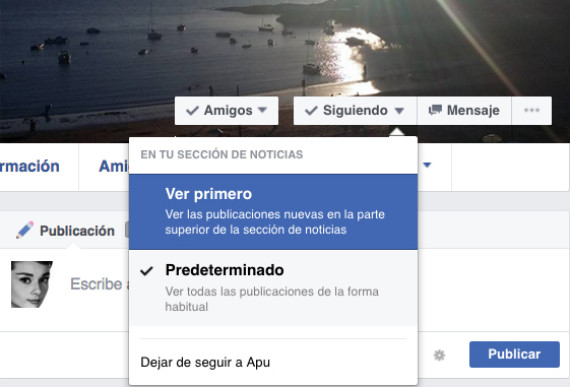 amigo favorito facebook