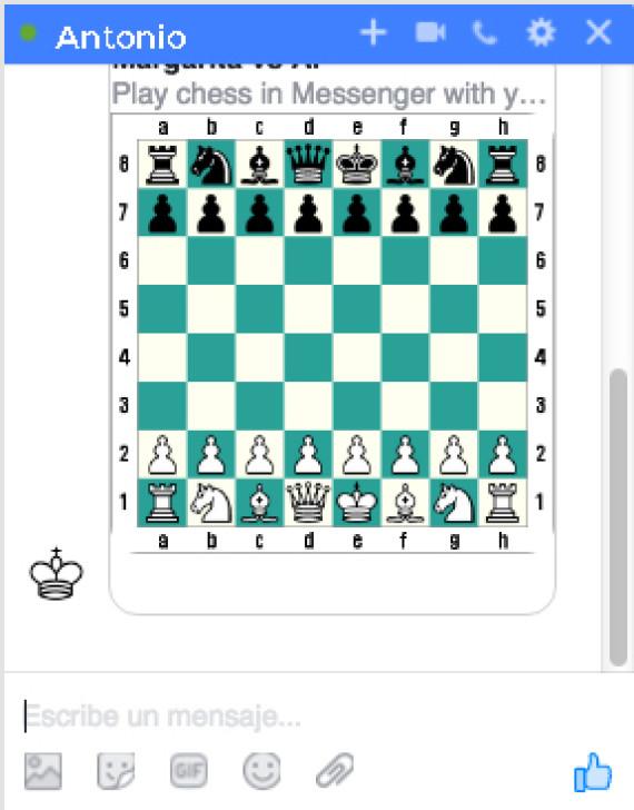 ajedrez mesengger
