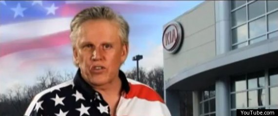 Gary Busey Kia Advert