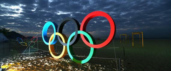 OLYMPICS RINGS RIO