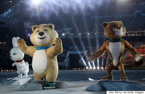 sochi mascots olympic
