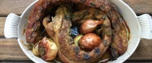 Travers De Porc Roti Herbes