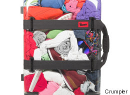 Avec cette valise transparente, impossible de sauter la case rangement