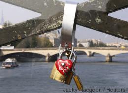 Nouvelle bataille à Paris contre des «cadenas d'amour»