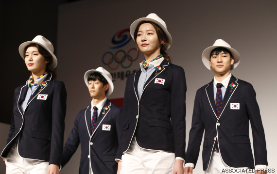 south korea uniform olympic games