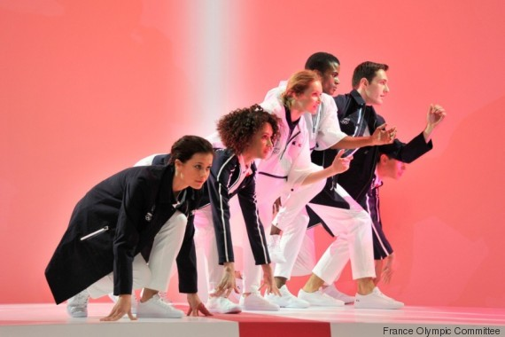 france uniform olympic games