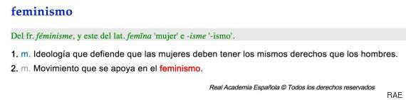 definicion feminismo