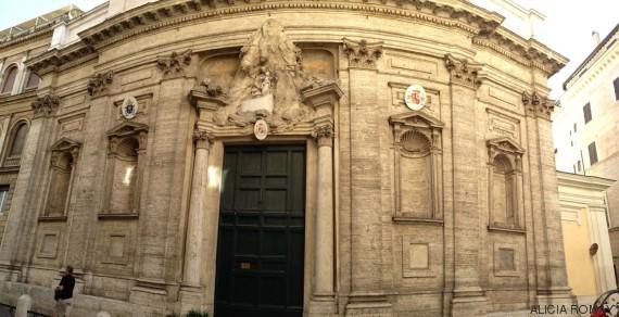 iglesia española roma