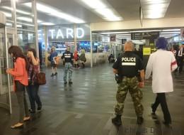 Homme armé à la station de métro Place-d'Armes?