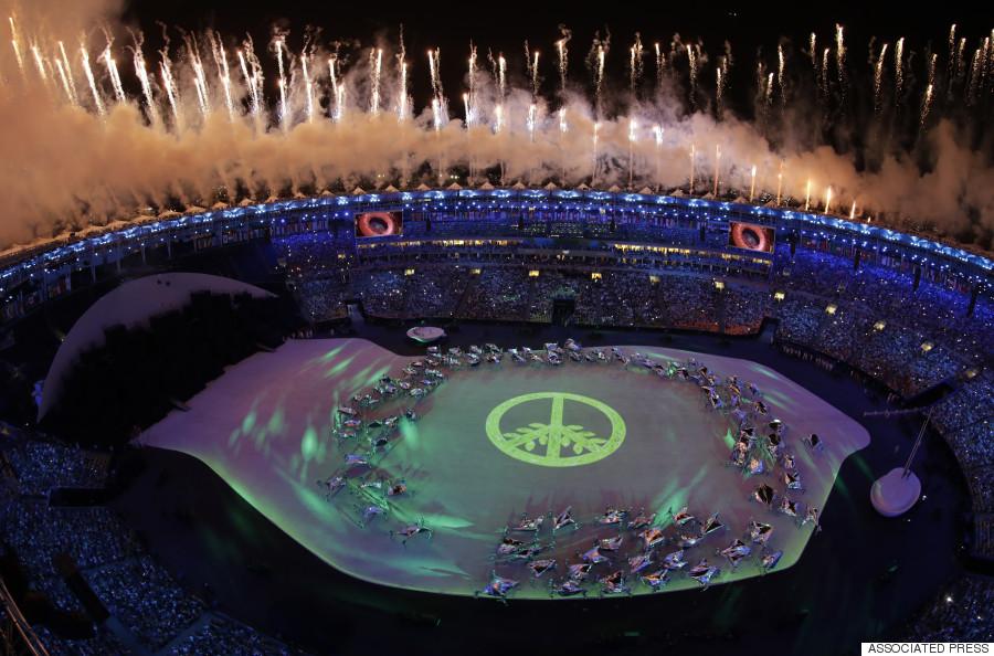 maracana opening ceremony