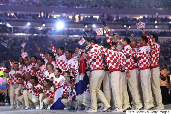 croatia rio opening ceremony