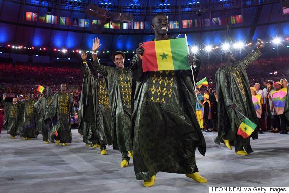 senegal opening rio olympics