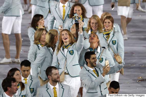 australia rio olympic opening