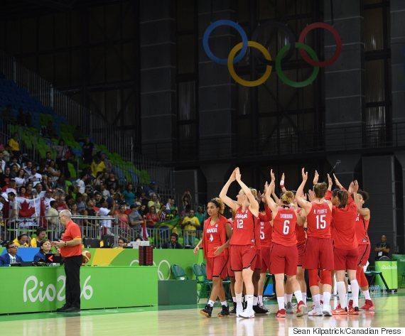canada basketball rio olympics