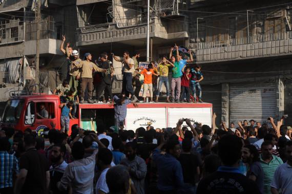rebelles alep syrie